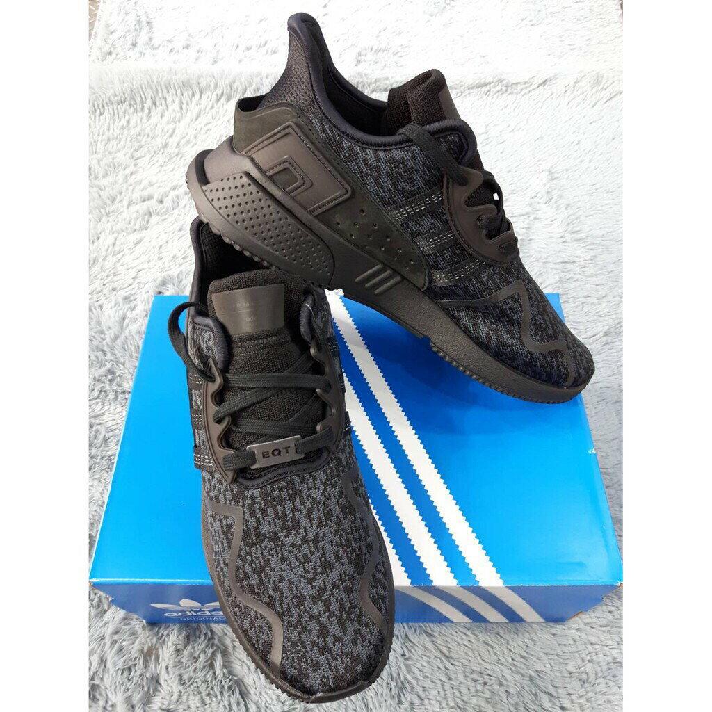Kumo shoes EQT CUSHION 全黑 雪花 愛迪達 adidas 男鞋BY9507