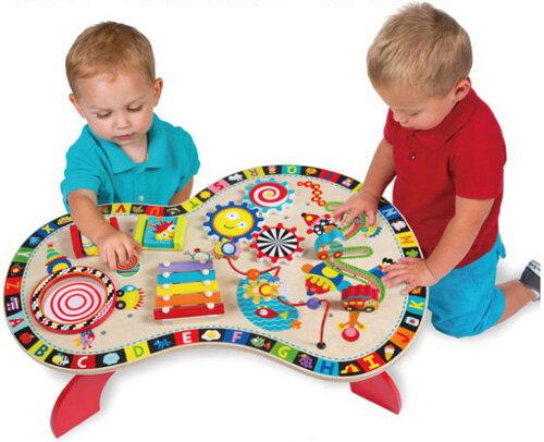 【美國ALEX】聰明寶寶遊戲桌1970