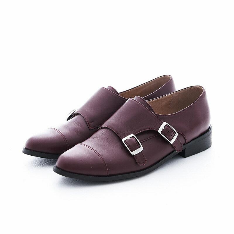 【P2-16712L】個性拼接孟克鞋_Shoes Party 5
