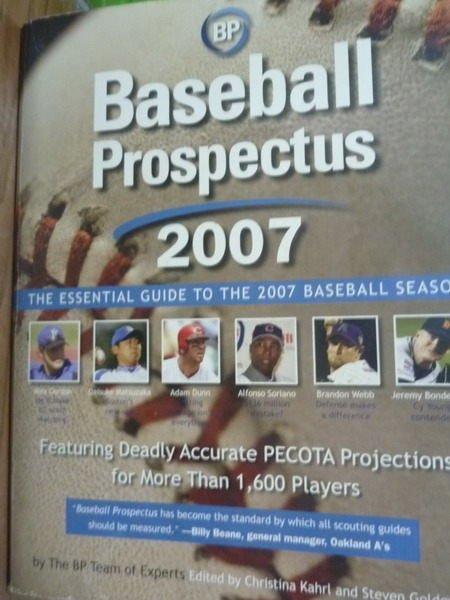 ~書寶 書T4/體育_QFH~Baseball Prospectus 2007