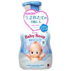 牛乳石鹼嬰兒全身沐浴乳-泡沫型400ml瓶