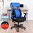 電腦椅 / 椅子 / 辨公椅 3M防潑水PU腰後收折手電腦椅 凱堡家居【A10849】 1
