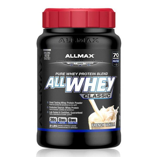 【加拿大ALLMAX】奧美仕乳清蛋白飲品香草口味(907公克)