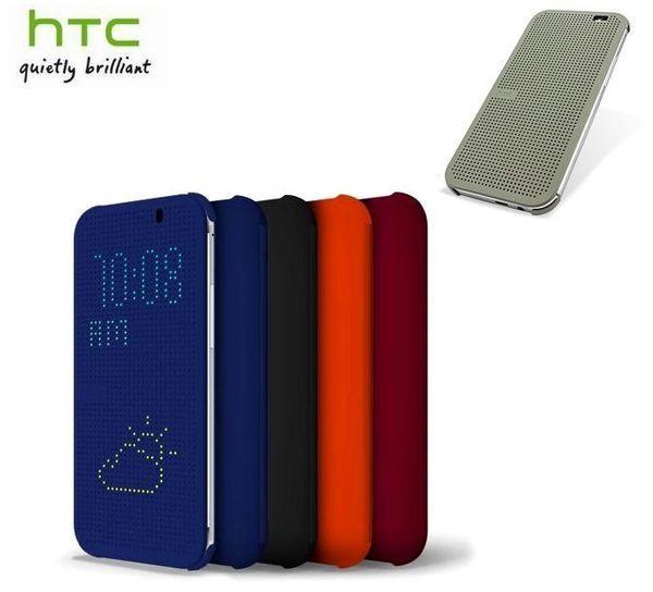 【原廠盒裝公司貨】HTCHCM100OneM8M8xDotView原廠炫彩顯示保護套、智能保護套