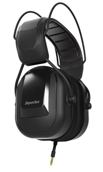 Superlux HD665 鼓手 / 低音樂器專用封閉式監聽耳機 / 音質更勝 Vic Firth SIH1【唐尼樂器】 - 限時優惠好康折扣