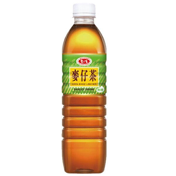 愛之味 麥仔茶-無糖 590ml