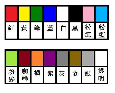 華麗牌WL-2031 彩色圓點標籤 16mm