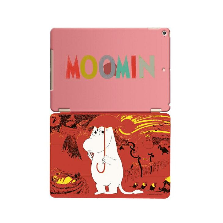 Moomin 嚕嚕米正版授權 -【 彗星來襲(紅) 】:《 iPad Mini/Air/Pro 》水晶殼+Smart Cover(磁桿)