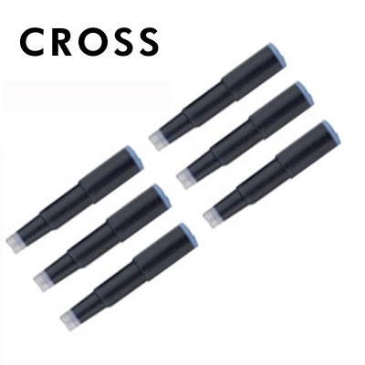 【CROSS】8920 鋼筆墨水卡管(藍) / 組