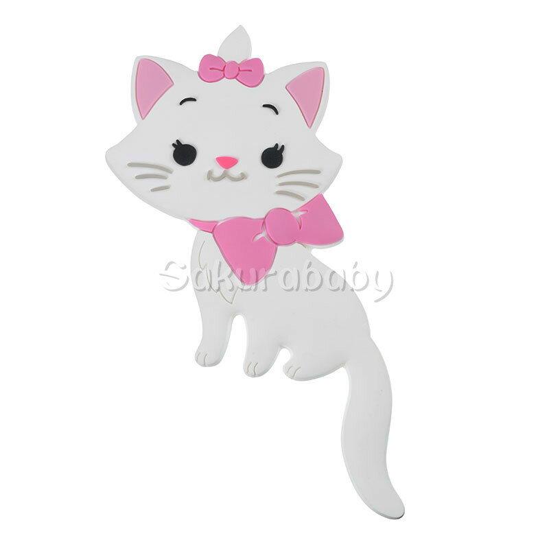 日本正版 迪士尼 瑪莉貓 貓咪 鑰匙鉤 磁鐵 掛飾 吊鉤 掛勾 立體造型 貓兒歷險記  櫻花寶寶