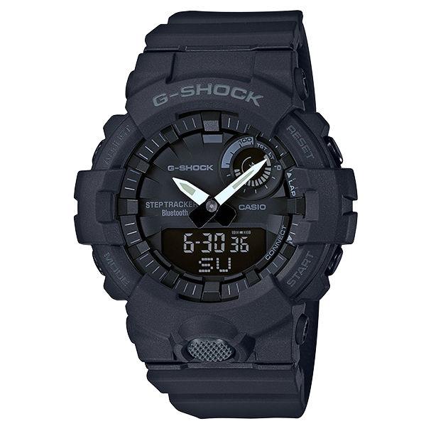 CASIO卡西歐G-SHOCKGBA-800-1AG-SQUAD系列藍芽計步運動腕錶