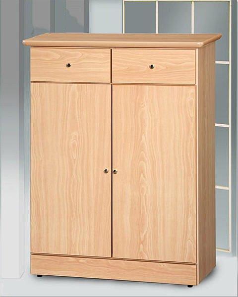 【尚品家具】房仲投資最愛超便宜 628-10 山毛2.6尺鞋櫃~另有白橡、胡桃、柚木色