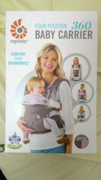 美國Ergobaby 360 度4向嬰兒背帶背巾,美國代購【粉卡其】