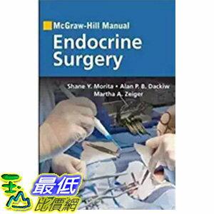 [106美國直購] McGraw-Hill Manual Endocrine Surgery