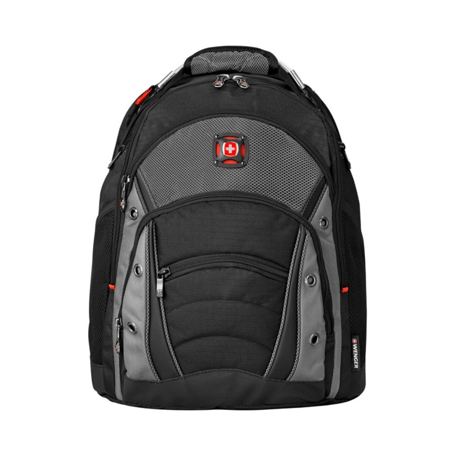 SwissGear Wenger Synergy Laptop Backpack in Black/Gray