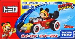 (卡司 正版現貨) TOMICA 多美小汽車 迪士尼 米奇 米老鼠 復古賽車 MRR-1 收藏小車