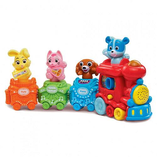 【英國 Vtech 嬰幼兒系列】歡唱動物火車