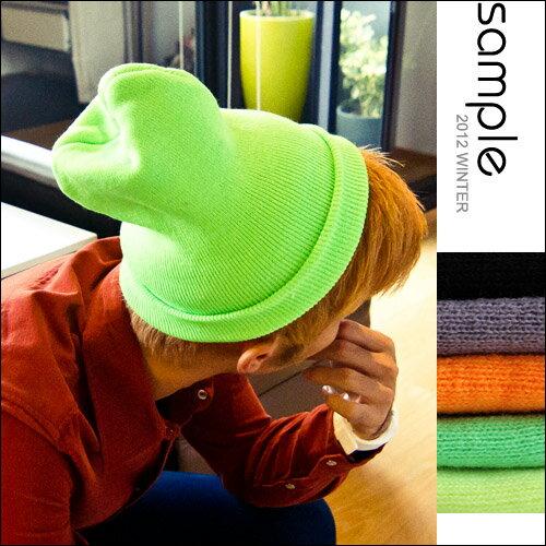 針織毛帽【Sample】Big Bang款情侶秋冬多色系超彈性針織毛帽【SA3809】-2
