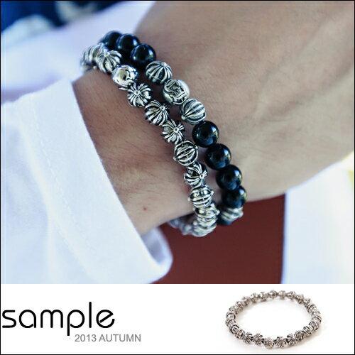 sample:串珠手環【Sample】韓國空運,重磅數全金屬質感串珠手環【SA5815】