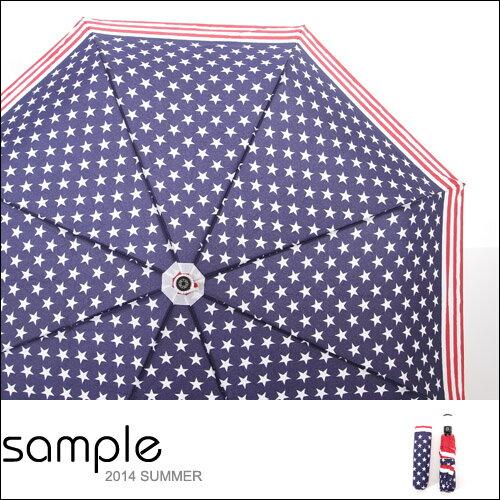 自動傘【Sample】韓國製,印花自動伸縮傘【SA8915】