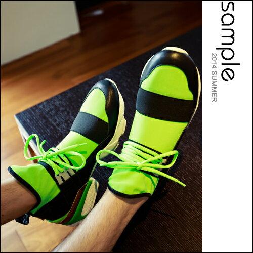 現貨 球鞋【Sample】韓國製,科技感軟網繃帶球鞋【SA9109】