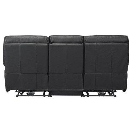 ◎全皮3人用頂級電動可躺沙發 BELIEVER2 BK NITORI宜得利家居 4
