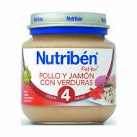 西班牙【Nutriben 貝康】寶寶雞肉醬(含火腿)+蔬菜全餐130g 【4M+】 - 限時優惠好康折扣