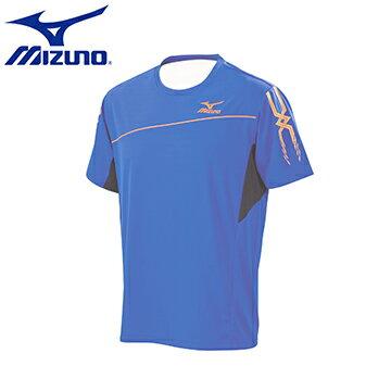 32TA650521(藍X黑)MC LINE 男短袖T恤 【美津濃MIZUNO】