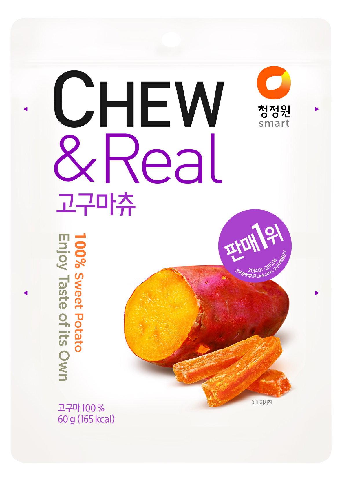 清淨園CHEW-蒸地瓜果乾
