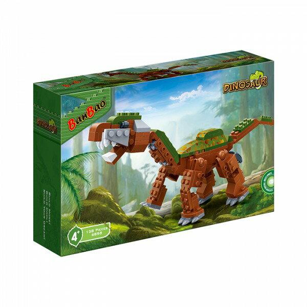 【BanBao 積木】侏羅紀系列-長頸巨龍 6858 (樂高通用)