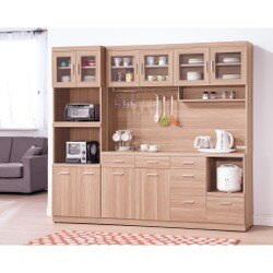 【簡單家具】,H414-2 羅莎5.3尺餐櫃(另售2尺收納櫃),大台北都會區免運費,組裝定位到好!