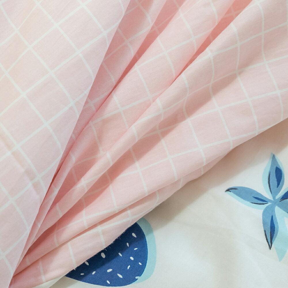 精梳棉 單人 / 雙人床包+薄被套組 台灣製造 棉床本舖 2