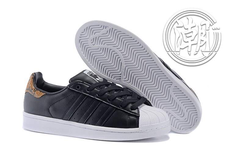 Adidas SuperstarII 80S 街頭 愛迪達 蛇皮 黑白 復古百搭 男女 情