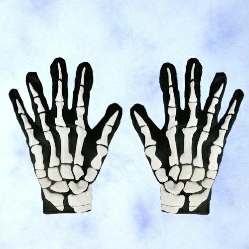 X射線【W646872】發泡骷髏手套,萬聖節服裝/武器道具/派對道具/角色扮演/化妝舞會