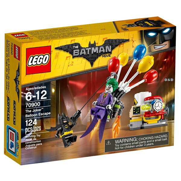樂高積木LEGO《 LT70900》Batman Movie 蝙蝠俠電影 -The Joker™ Balloon Escape