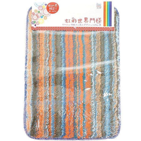 【九元生活百貨】皮久熊 虹彩世界門毯/60x40cm 吸水地墊 腳踏墊