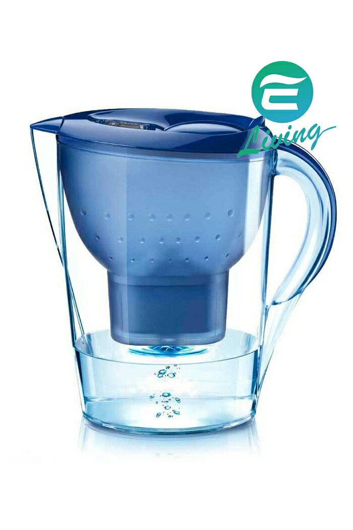 BRITA Marella XL 2.4L 濾水壺+濾心1個 藍色 #81058