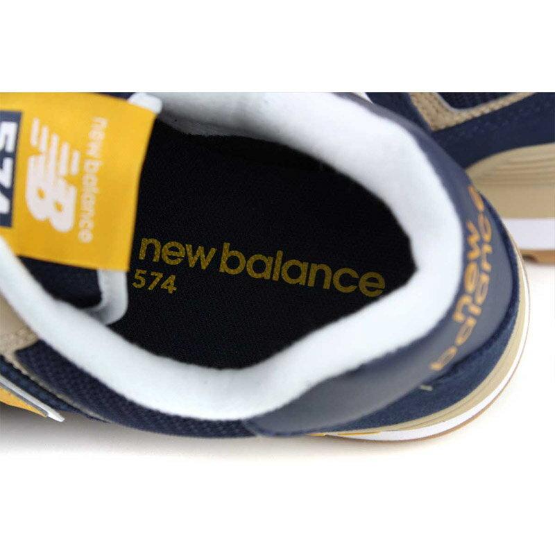 NEW BALANCE 574系列 運動鞋 復古鞋 深藍 / 黃 男鞋 ML574SPF-D no709 2