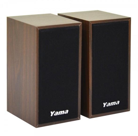 ~迪特軍3C~YAMA YA~2000 USB兩件式多媒體喇叭 USB供電 3.5mm音源