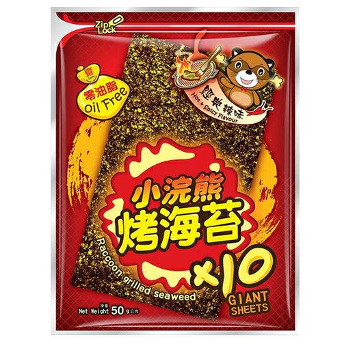 小浣熊 烤海苔-經典辣味 50g / 包 0