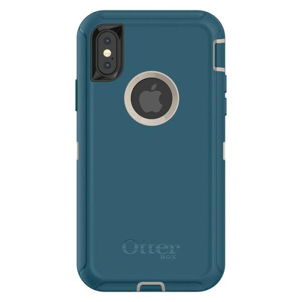 貝殼嚴選:【貝殼】『OtterBox』iPhoneXDefenderSeries防禦者系列-綠