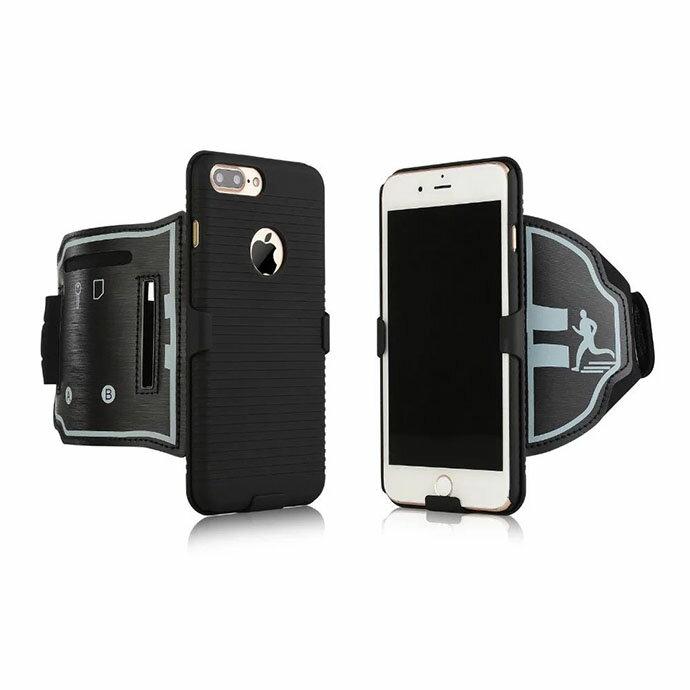 iPhone 7 Plus 專用 手機雙面背殼運動臂帶 運動臂套 (SB059) 【預購】 1