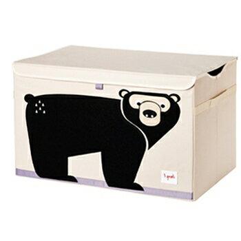 加拿大 3 Sprouts玩具收納箱-黑熊★愛兒麗婦幼用品★