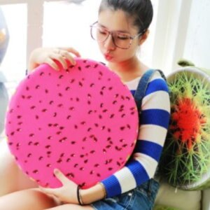 美麗大街【105032003C】KUSO搞怪造型水果 木頭 輪胎 蛋黃...坐墊抱枕