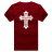 ◆快速出貨◆T恤.情侶裝.班服.MIT台灣製.獨家配對情侶裝.客製化.純棉短T.單色十字架 JESUS【YC438】可單買.艾咪E舖 7