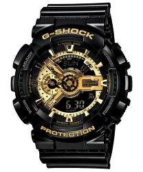 CASIO 卡西歐 G SHOCK 變形金剛黑金重型休閒錶 黑 GA-110GB-1ADR 51.2 mm