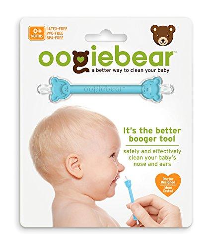 【淘氣寶寶】美國 Oogiebear-QQ熊耳鼻清潔棒(單入)【專業醫師把關,國外媽咪大推薦】