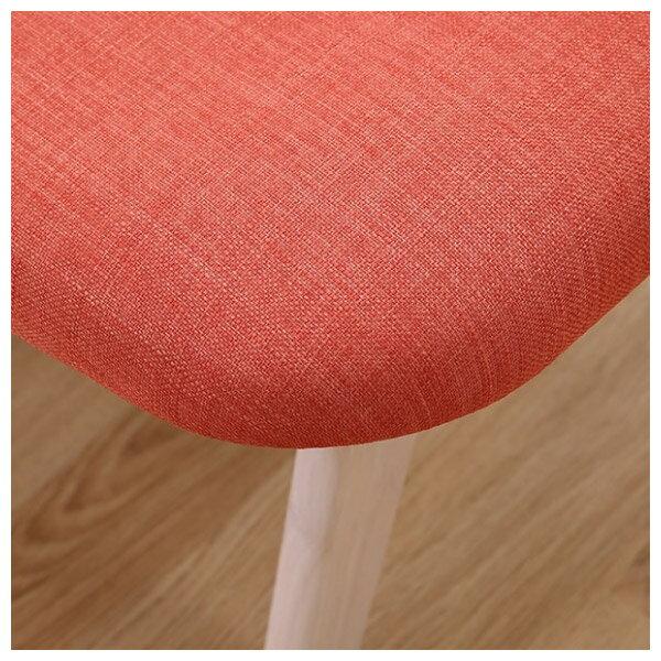 ◎實木餐桌椅四件組 RELAX WW / OR 橡膠木 NITORI宜得利家居 9