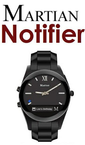 【原廠盒裝】摩絢 Martian Notifier 訊息推撥智慧腕錶