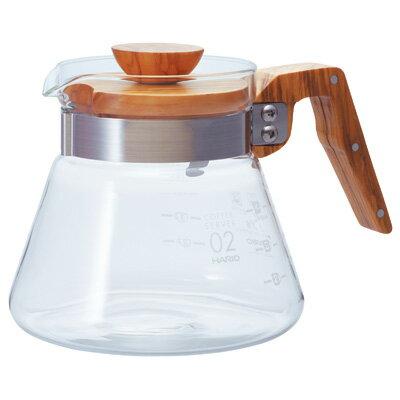 金時代書香咖啡   HARIO V60橄欖木60好握咖啡壺 600ml VCWN-60-OV
